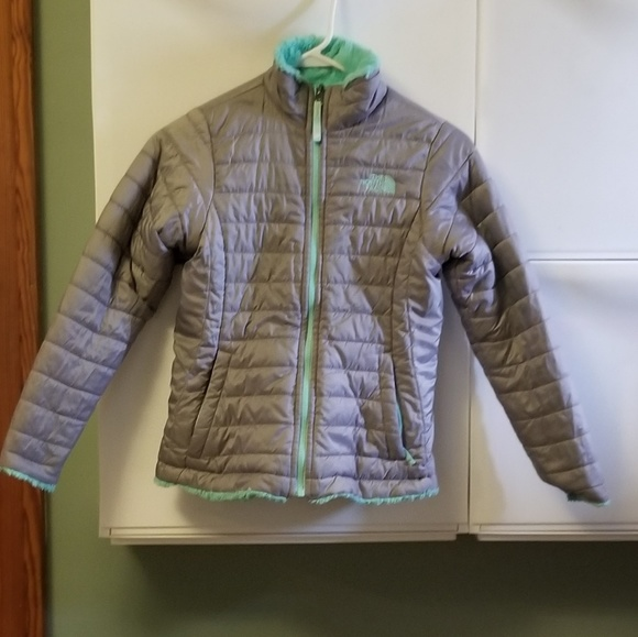 3a81d7ddd The North Face reversible mossbud swirl jacket